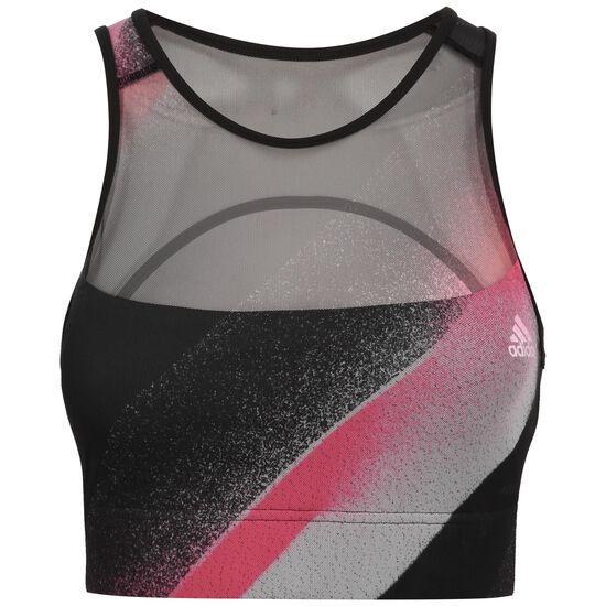 Unleash Confidence Sport-Bustier Damen, schwarz / pink, zoom bei OUTFITTER Online