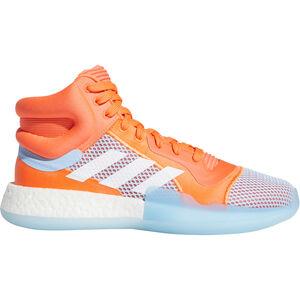 Marquee BOOST Basketballschuhe Herren, korall / blau, zoom bei OUTFITTER Online