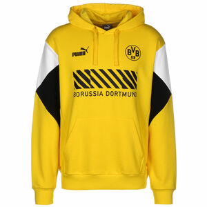 Borussia Dortmund BVB FtblCulture Kapuzenpullover Herren, gelb / schwarz, zoom bei OUTFITTER Online