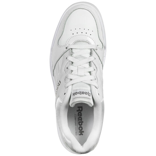 Royal BB4500 Low Sneaker Damen, weiß / silber, zoom bei OUTFITTER Online