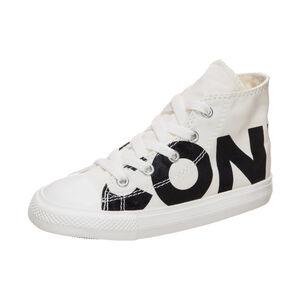 Chuck Taylor All Star Wordmark High Sneaker Kleinkinder, Schwarz, zoom bei OUTFITTER Online