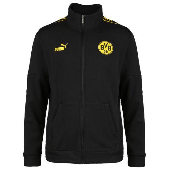Borussia Dortmund ftblCulture Trainingsjacke Herren, schwarz / gelb, zoom bei OUTFITTER Online
