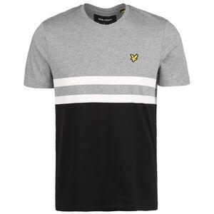 Yoke Stripe T-Shirt Herren, grau / schwarz, zoom bei OUTFITTER Online