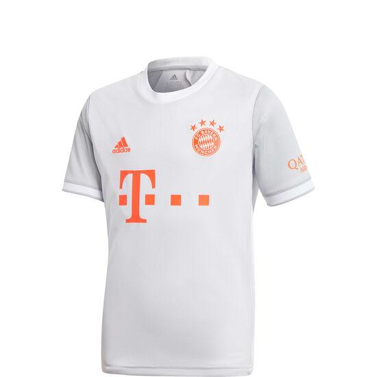 FC Bayern München Trikot Away 2020/2021 Kinder, hellgrau / orange, zoom bei OUTFITTER Online