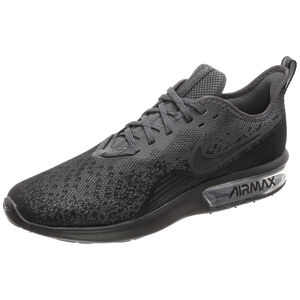 Air Max Sequent 4 Sneaker Herren, schwarz / anthrazit, zoom bei OUTFITTER Online