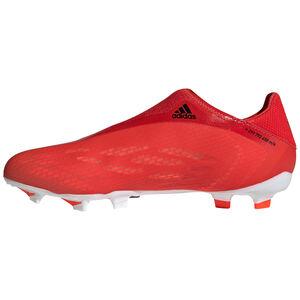 X Speedflow.3 Laceless FG Fußballschuh Herren, rot / schwarz, zoom bei OUTFITTER Online