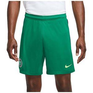 Nigeria Shorts Home Stadium Herren, grün / neongrün, zoom bei OUTFITTER Online