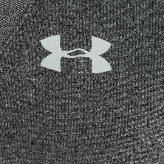 HeatGear Tech Solid Trainingsshirt Damen, Grau, zoom bei OUTFITTER Online