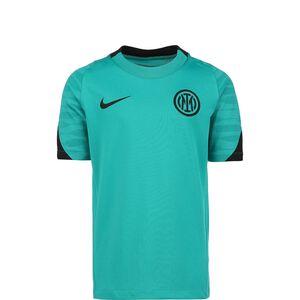 Inter Mailand Strike Trainingsshirt Kinder, türkis / schwarz, zoom bei OUTFITTER Online