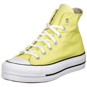 Chuck Taylor All Star Platform High Sneaker Damen, gelb / weiß, zoom bei OUTFITTER Online