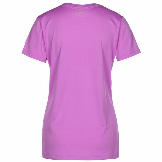 Tech Solid Trainingsshirt Damen, lila, zoom bei OUTFITTER Online