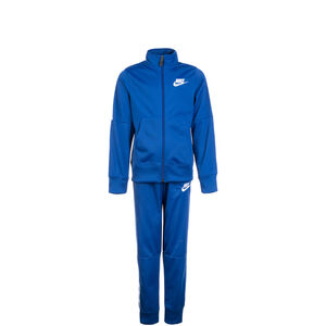Sportswear Trainingsanzug Kinder, blau / weiß, zoom bei OUTFITTER Online