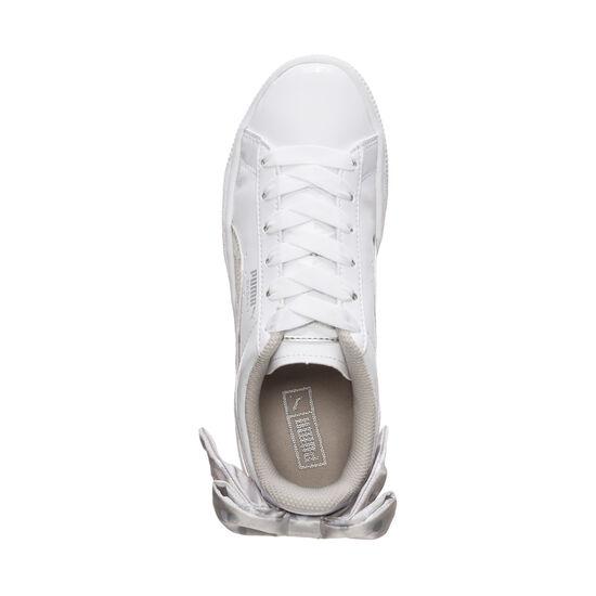 Basket Bow Dots Sneaker Kinder, weiß / grau, zoom bei OUTFITTER Online