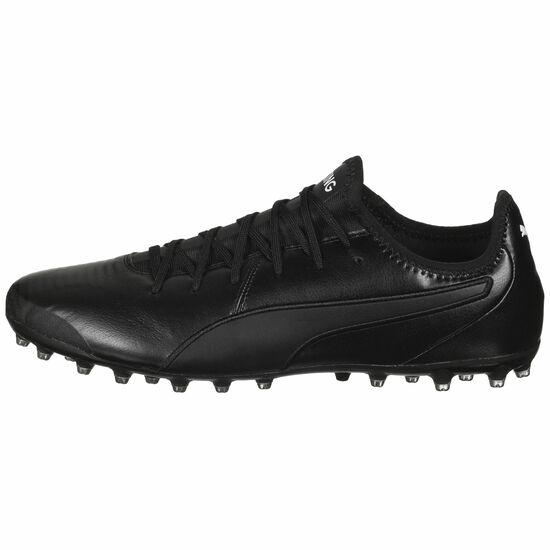 King Pro MG Fußballschuh Herren, schwarz, zoom bei OUTFITTER Online
