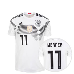 DFB Trikot Home Werner WM 2018 Kinder, Weiß, zoom bei OUTFITTER Online