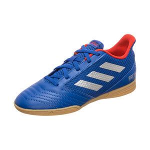 Predator 19.4 Sala Indoor Fußballschuh Kinder, blau / rot, zoom bei OUTFITTER Online