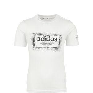 GFX T-Shirt Kinder, weiß / schwarz, zoom bei OUTFITTER Online