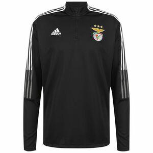 Benfica Lissabon Trainingssweat Herren, schwarz / weiß, zoom bei OUTFITTER Online