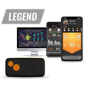 GPS Fußball Tracker, Schwarz, zoom bei OUTFITTER Online