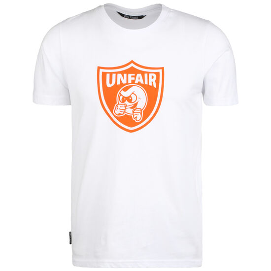 Punchingball Emblem T-Shirt Herren, weiß / orange, zoom bei OUTFITTER Online