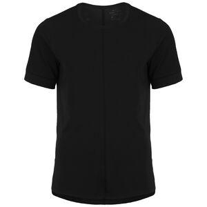 Dry Yoga Trainingsshirt Herren, schwarz, zoom bei OUTFITTER Online