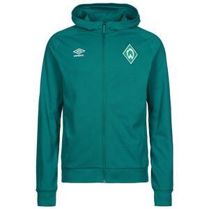 SV Werder Bremen Travel Kapuzenjacke Herren, dunkelgrün, zoom bei OUTFITTER Online