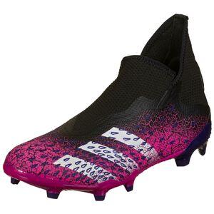 Predator Freak .3 Laceless FG Fußballschuh Herren, schwarz / pink, zoom bei OUTFITTER Online