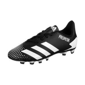 Predator 20.4 FxG Fußballschuh Kinder, schwarz / weiß, zoom bei OUTFITTER Online