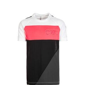 Dri-FIT CR7 Trainingsshirt Kinder, weiß / schwarz, zoom bei OUTFITTER Online