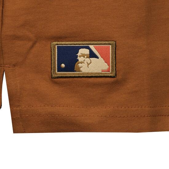 MLB Vintage Pocket Logo Los Angeles Dodgers T-Shirt Herren, hellbraun, zoom bei OUTFITTER Online