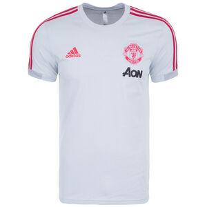 Manchester United T-Shirt Herren, hellgrau / rot, zoom bei OUTFITTER Online