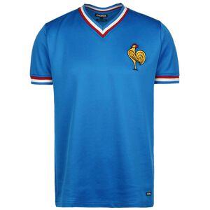 Frankreich 1971 Retro T-Shirt Herren, blau / rot, zoom bei OUTFITTER Online