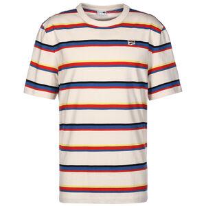 Downtown Stripe T-Shirt Herren, rot / beige, zoom bei OUTFITTER Online