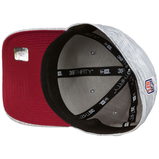 39THIRTY NFL San Francisco 49ers On-Field Sideline Road Cap, grau / rot, zoom bei OUTFITTER Online