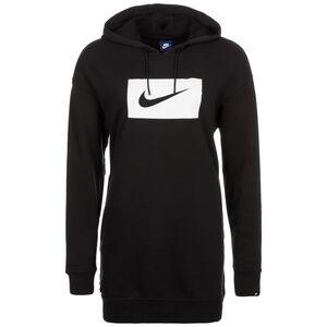 Sportswear Kapuzenpullover Damen, schwarz / weiß, zoom bei OUTFITTER Online