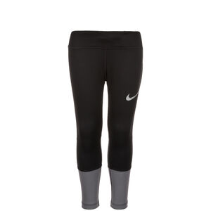 Power 3/4 Lauftight Kinder, Schwarz, zoom bei OUTFITTER Online