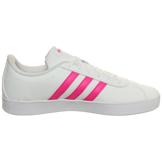 VL Court 2.0 Sneaker Kinder, weiß / pink, zoom bei OUTFITTER Online