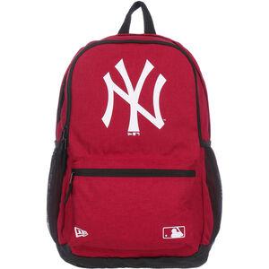 MLB Delaware New York Yankees Rucksack, rot / schwarz, zoom bei OUTFITTER Online