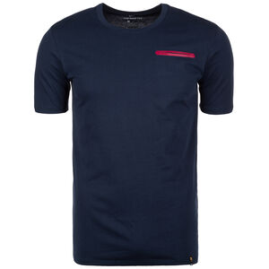 FC Barcelona Travel T-Shirt Herren, Blau, zoom bei OUTFITTER Online