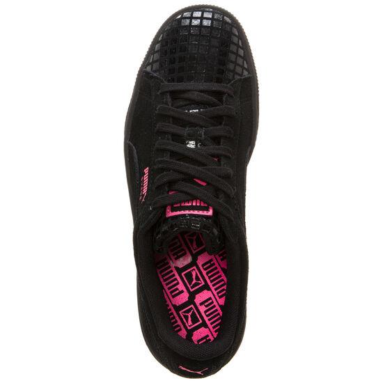 Suede Classic Street Sneaker Damen, Schwarz, zoom bei OUTFITTER Online