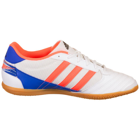 Super Sala Fußballschuh Herren, weiß / orange, zoom bei OUTFITTER Online