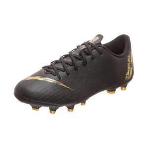 Mercurial Vapor XII Academy MG Fußballschuh Kinder, schwarz / gold, zoom bei OUTFITTER Online