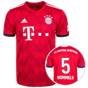 FC Bayern München Trikot Home Hummels 2018/2019 Herren, Rot, zoom bei OUTFITTER Online