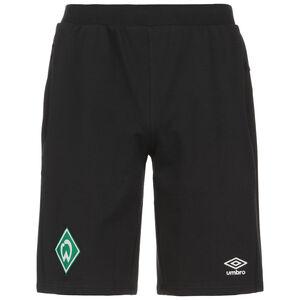 SV Werder Bremen Travel Trainingsshorts Herren, schwarz / grün, zoom bei OUTFITTER Online