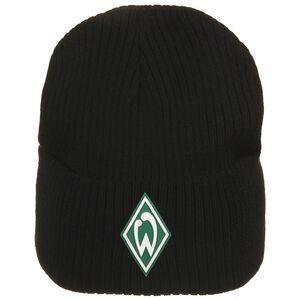 SV Werder Bremen Icon Beanie, schwarz / grün, zoom bei OUTFITTER Online