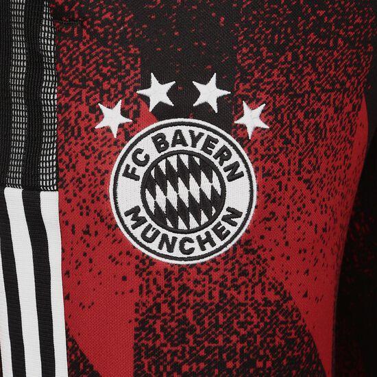 München AOP Trainingshose Herren, schwarz / rot, zoom bei OUTFITTER Online