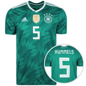 DFB Trikot Away Hummels WM 2018 Herren, Grün, zoom bei OUTFITTER Online