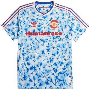 Manchester United Human Race FC Trikot Herren, weiß / blau, zoom bei OUTFITTER Online