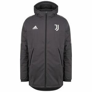 Juventus Turin Winterjacke Herren, grau / weiß, zoom bei OUTFITTER Online