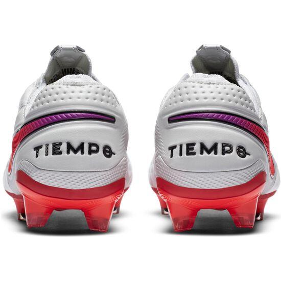 Tiempo Legend 8 Elite FG Fußballschuh Herren, weiß / neonrot, zoom bei OUTFITTER Online